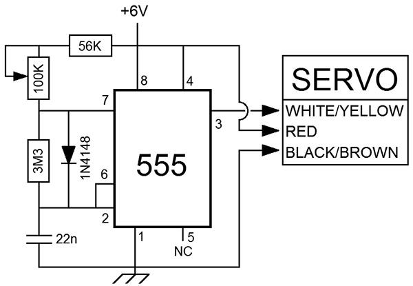 analog servos for robotics