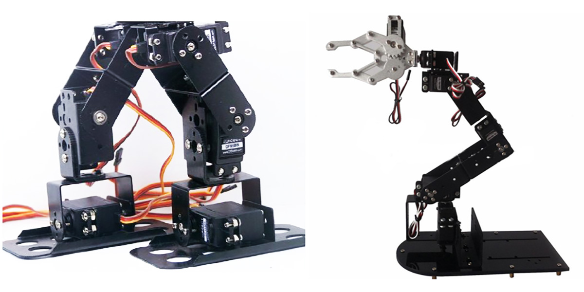 Analog Servos for Robotics