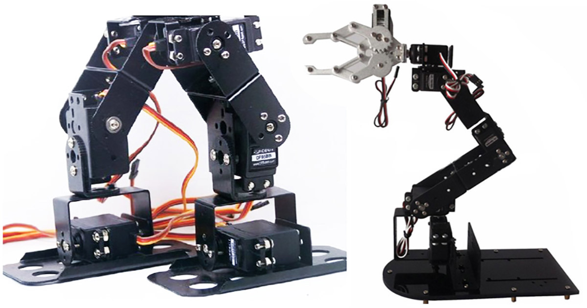 Analog Servos for Robotics | Servo Magazine