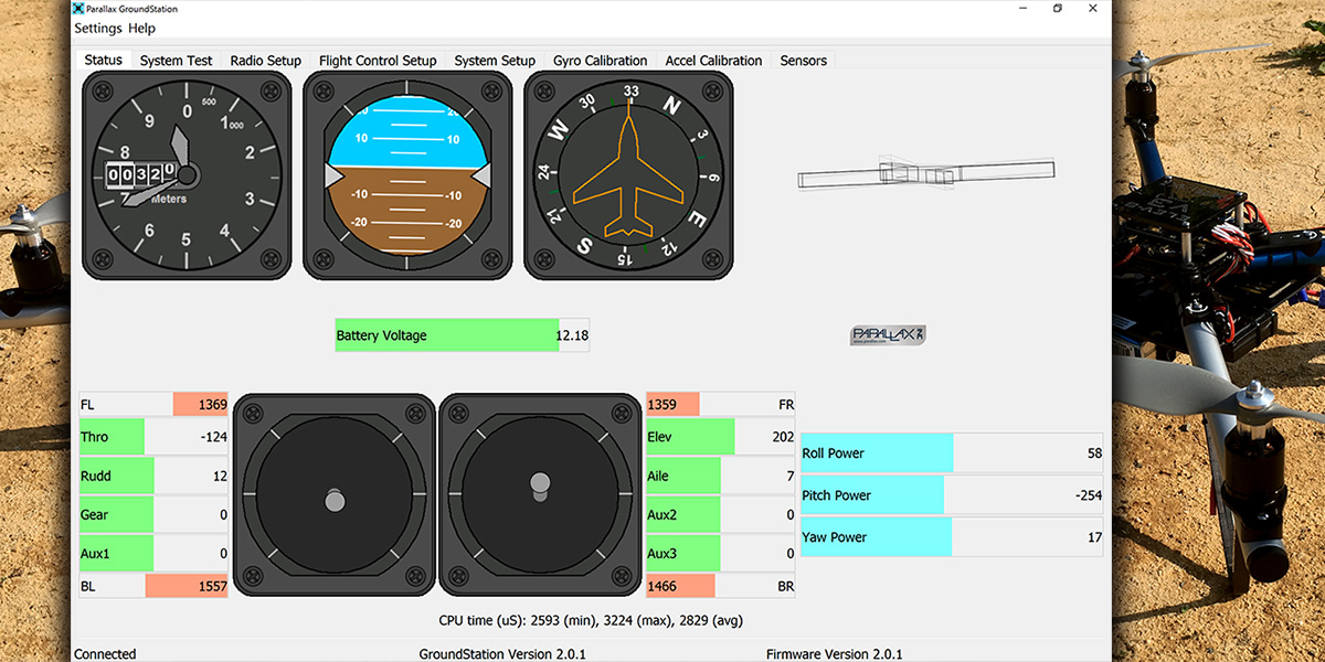 The Multi-Rotor Hobbyist — Adding Telemetry to the ELEV-8