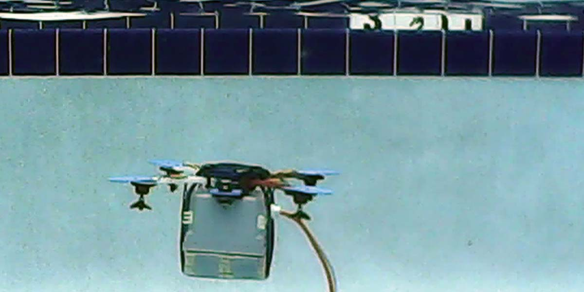 Make a Splash with  an Underwater Quadcopter ROV — Part 2