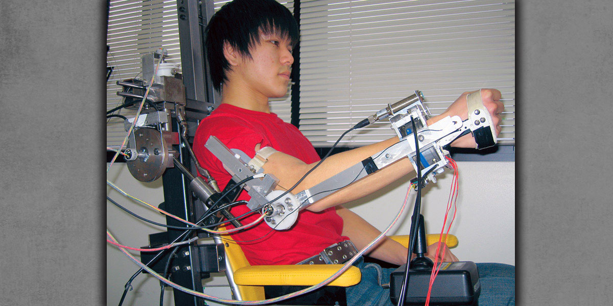 Control of Power-Assist Exoskeleton Robots With Biological Signals