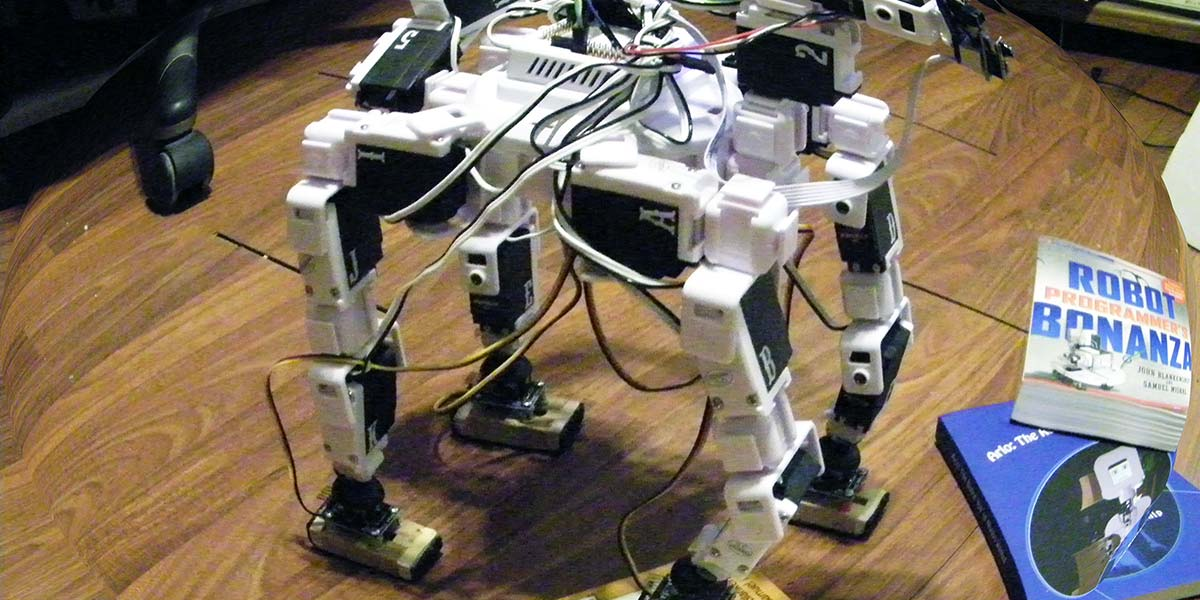 Experimenting with Walking Robots — Autonomous Leveling