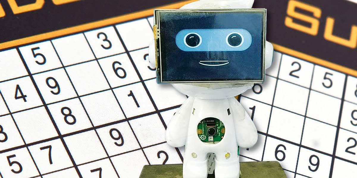 How to Make a Machine Learning and Computer Vision Based Sudoku Solving Robot Using a Raspberry Pi