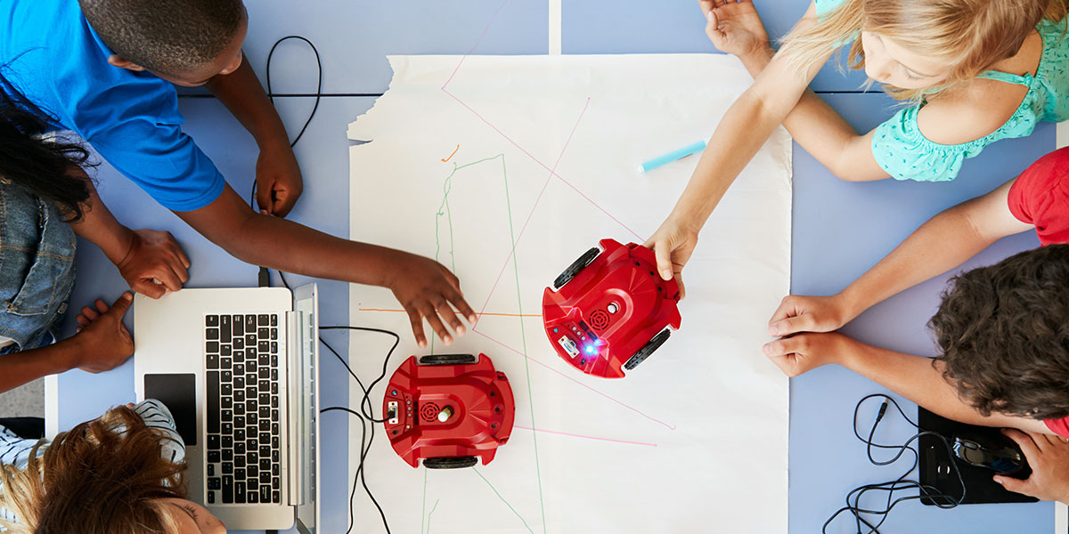 Introducing Children to Robotics and Programming