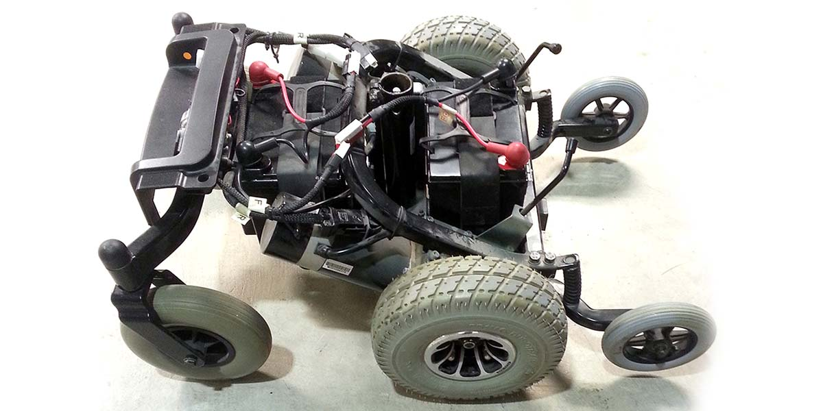 Hardware ing a Power Wheelchair Control Module | Servo ... on