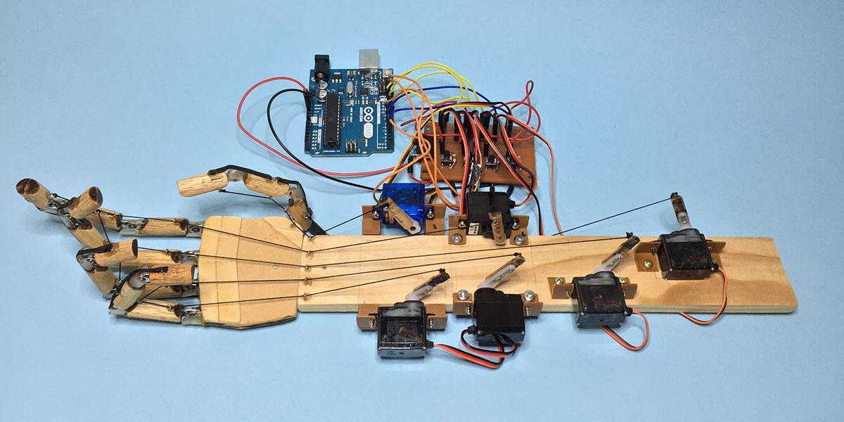 Little Arduino Robot Hand