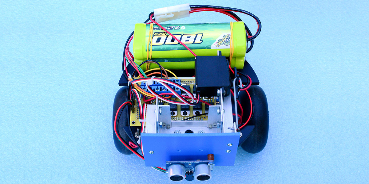Using Stepper Motors for Wheeled Robot Propulsion | Servo