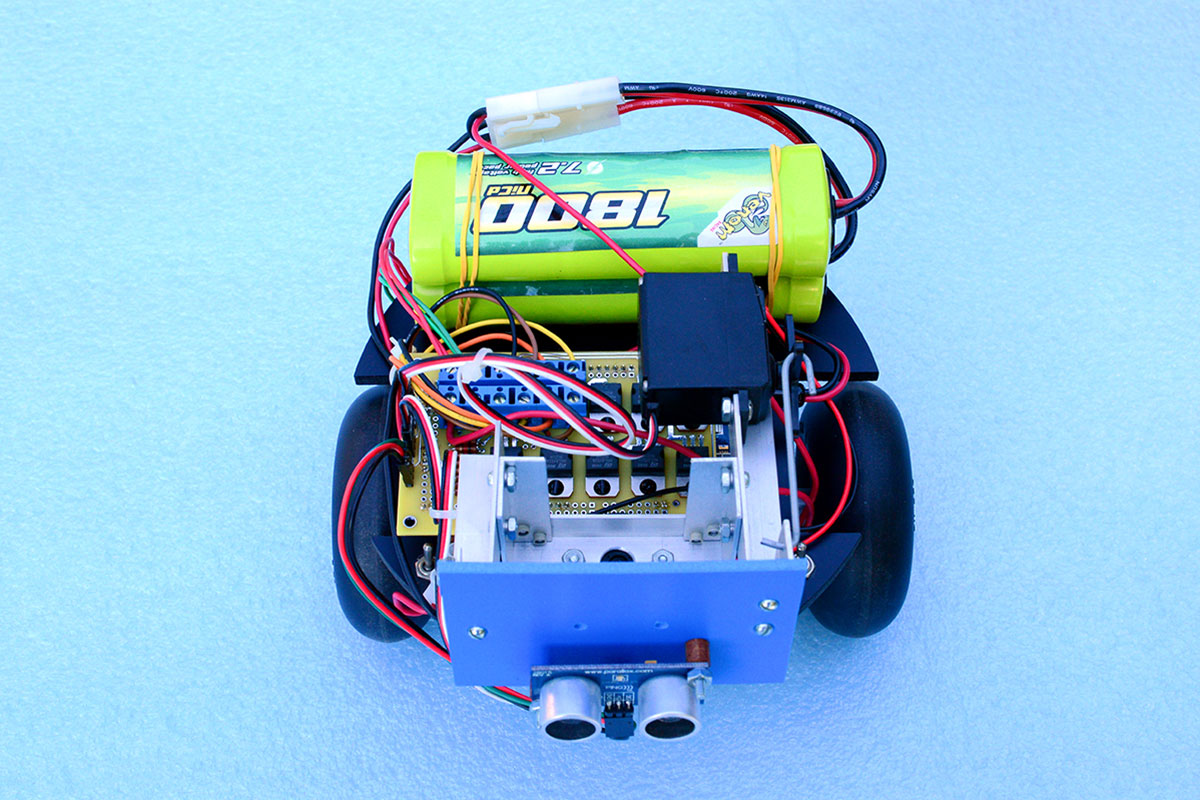 Using Stepper Motors for Wheeled Robot Propulsion