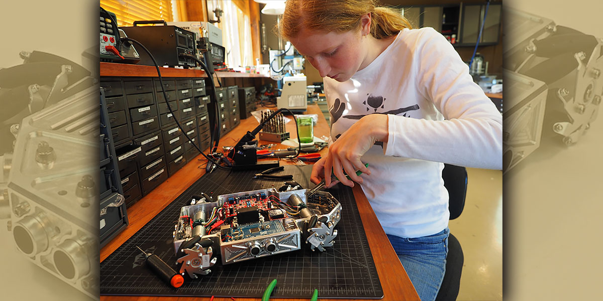 Beattys Make Building Robots a Family Affair