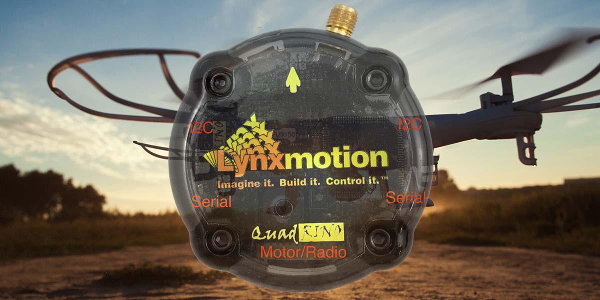 The Lynxmotion Quadrino Nano Flight Controller