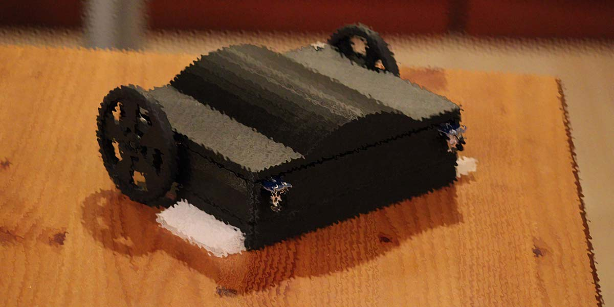 WiperBot: A 3D Printed Table Cleaning Robot