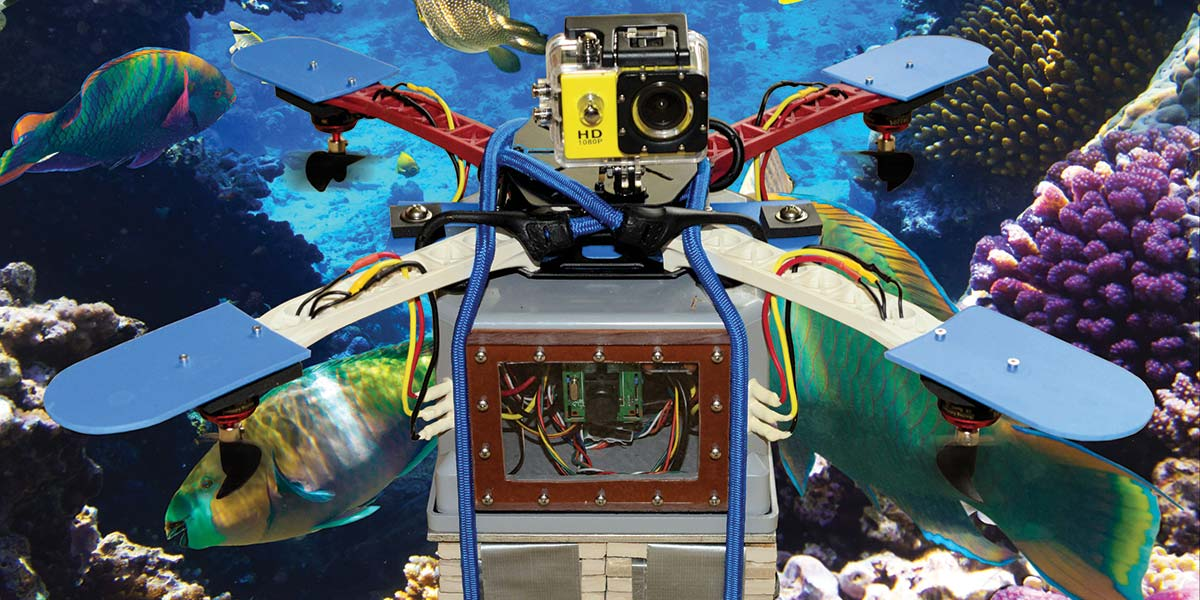 Make a Splash with  an Underwater Quadcopter ROV — Part 1