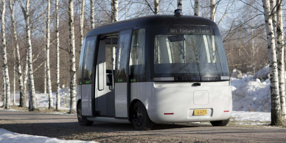 First Autonomous Driving Shuttle Bus For All Weather Conditions