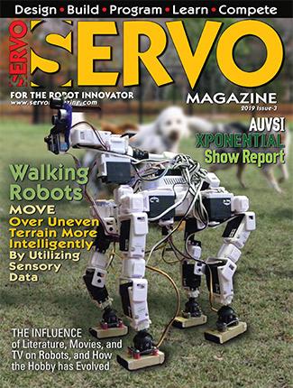 Servo Magazine - Covering the world of personal robotics