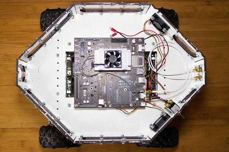 NOMAD: The Evolution of an Autonomous Robot | Servo Magazine