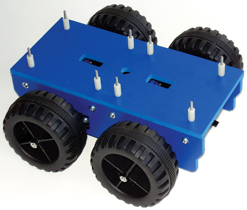 Ways to Move Your Robot | Servo Magazine