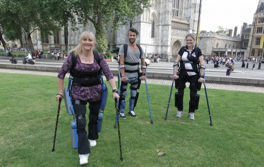 ReWalk Users in London Courtesy of Argo Medical Technologies